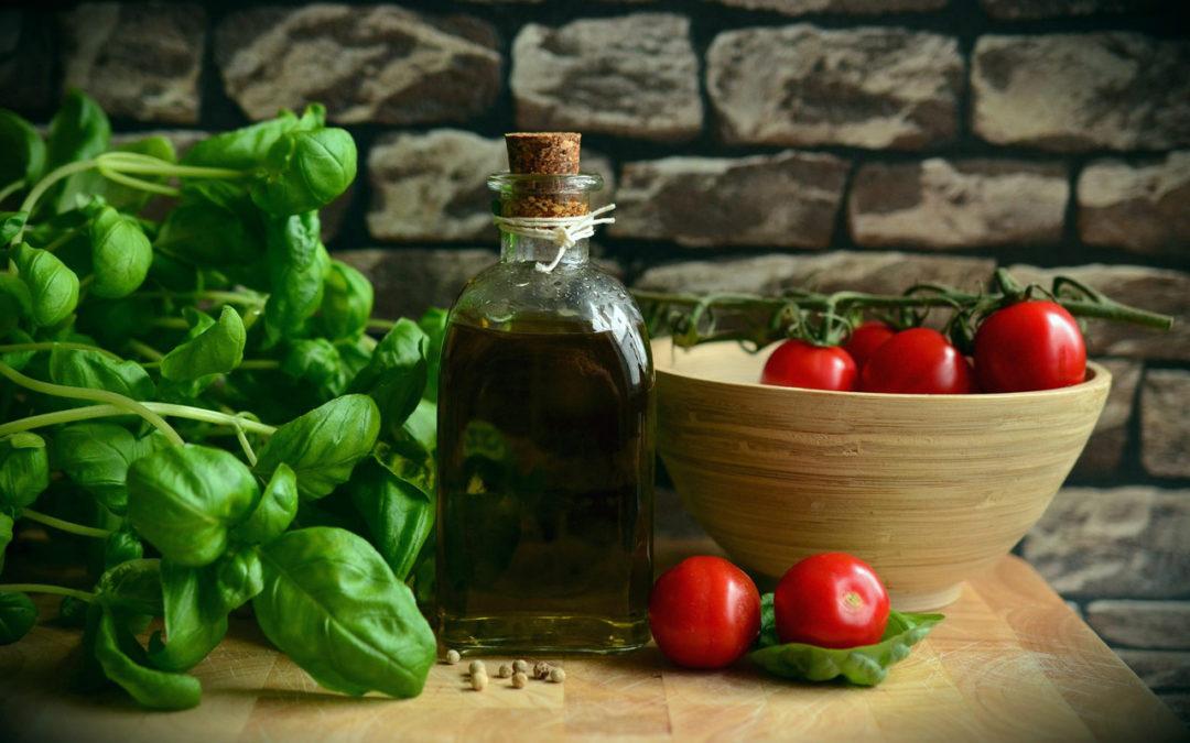 Ensalada de tomates cherry y arvejas + Calabaza tipo napolitana